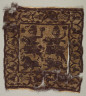 Egypt, Byzantine period, 5th century / Tunic Decoration with Roman Hunters / 400s