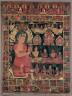Nepal, 17th Century / Thangka with Bejeweled Buddha Preaching / 1648