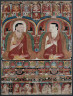 Central Tibet, Kadampa School, late 12th-early 13th Century / Thangka with Two Lamas Discussing the Dharma / late 12th to early 13th century