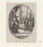 Jacques Callot / Christ before Pilate / 1631