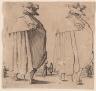 Jacques Callot / Man in Cloak / 1923