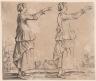 Jacques Callot / Turk / 1623
