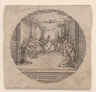 Jacques Callot / Decent of the Holy Spirit / 1631