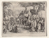Jacques Callot / The Entry into Jerusalem / 1635