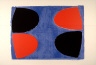 Terry Frost / Blacks and Reds on Blue / 1968