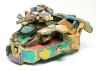 Mr. Yaweisohn, Lomo, Liberia / Toy Tank Made of Flip Flops / Late 20th century