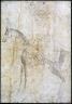 Bihzad / Sultan Husain Mirza on Horseback / late 15th century