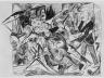 """Max Beckmann / Das Martyrium (from the series """"Die Hölle"""") / 1919"""