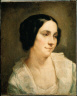 Thomas Couture / Portrait of a Woman / early 1850s