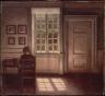 Vilhelm Hammersh?i / Woman in an Interior / 1900-09