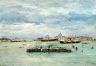 William Merritt Chase / Gray Day on the Lagoon / about 1877