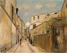 Maurice Utrillo / Church of Le Sacr??-Coeur, from rue Saint-Rustique / not dated