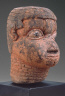 Artist not recorded / Altar Head / Benin Middle Period, mid-18th century