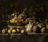 Frans Snyders / Vegetables and a Basket of Fruit on a Table / not dated