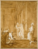 Giovanni Domenico Tiepolo / The Visitation: Mary and Elizabeth / after 1770