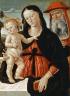 Bernardino di Betto di Biagio, called Pintoricchio / Virgin and Child with Saint Jerome / about 1475-1480