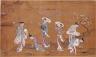 Suzuki Harunobu / Spring Outing on the Banks of the Sumida River / Meiwa era (1764-1772)