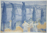 Henri-Edmond Cross / The Promenade / 1897