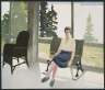 Fairfield Porter / Portrait of Nancy Porter Straus / 1973