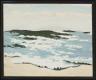 Fairfield Porter / Sun on Rough Sea / 1972