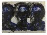 Lester Johnson / Three Heads / 1966-69