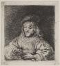 Rembrandt Harmensz. van Rijn / The Card Player / 1641
