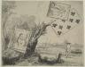 "Rembrandt Harmensz. van Rijn / View of the Omval (""The Ruins""), near Amsterdam / 1645"