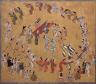 Artist Unknown, Japanese / Circle Dance / late Kan'ei (1624-1644)- Kanbun (1661-1673) era