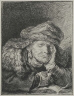 Rembrandt Harmensz. van Rijn / Old Woman Sleeping / about 1635-37