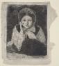 Edgar Degas / Marguerite Degas / 1865