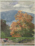 Winslow Homer / Autumn Foliage with Two Youths Fishing / about 1878