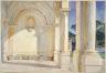John Singer Sargent / Villa Falconiere / 1907