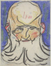 Henri Gaudier-Brzeska / Man with a White Beard / 1911-12