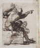Salvator Rosa / Study for Figurine / about 1656-57