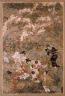 Iwasa Matabei / Partying Beneath Blossoming Cherry Trees / about 1624-1644