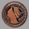 The Copenhagen Head Painter / Plate / about 320-310 B.C.