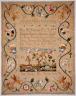 Sally Jackson / Sampler / 1771