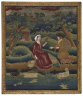 Phebe Hobart / Embroidered picture / 2nd half of 18th century