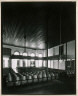 James Dow / Hancock County Courthouse, Main Courtroom, Sparta, Georgia / 1976, printed August 1983