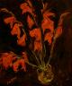 Chaim Soutine / Red Gladioli / c. 1919