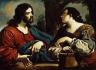 Guercino (Giovanni Francesco Barbieri) / Christ and the Woman of Samaria / c. 1620