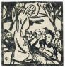 Christian Rohlfs / The Sermon on the Mount / 1916