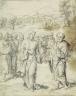 David Joris / Christ Giving the Keys to Saint Peter / 1524/1529