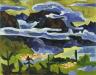 Karl Schmidt-Rottluff / Rain Clouds, Lago di Garda / 1927