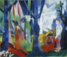 Heinrich Campendonk / In the Forest / ca 1919