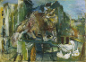 Oskar Kokoschka / The Cat / 1926