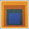 Josef Albers / Homage to the Square: Treasured Enclosure / 1954