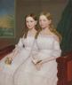 Anonymous / Dennison Sisters / c. 1845