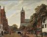Jan van der Heyden / View of Oude Delft / c. 1660-1665