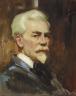 Julius C. Rolshoven / Self Portrait / 1924